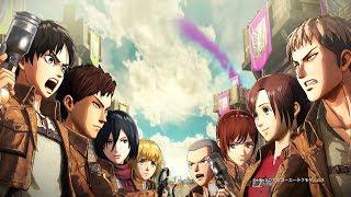 ATTACK ON TITAN 2 - 4th Official Trailer (1080p)   Attack on Titan GAME 2018