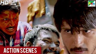 Dharti Ka Lahoo - Best Action Scenes | Sri Chakram | Hindi Dubbed Movie | Arav Surya, Jai Jagadish