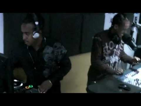 IT'S LIL RICK & DJ CHILLY ON SLAM 101.1FM BARBADOS (slam101fm.com) TALES FROM THE CRATES PT 1  .MOV