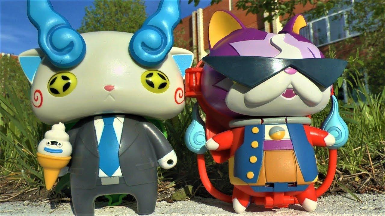 Игрушки для детей Герои мультика Yo kai watch