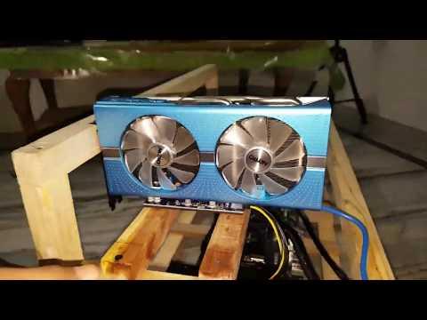 Assemble Mining Rig | Mining Rig Setup | Sapphire RX580 8GB | RM1000i  | Speed 152 Mh/s | FHD 60 FPS