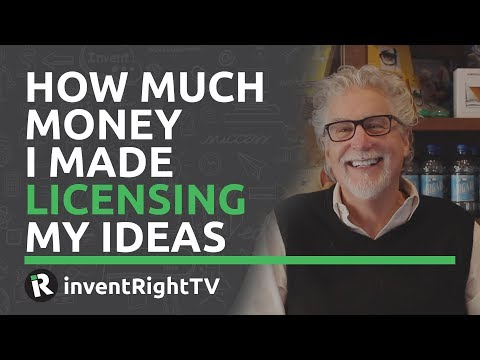 How Much Money I Made Licensing My Ideas