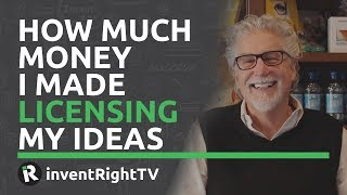 How Much Money I Made Licensing My Ideas thumbnail