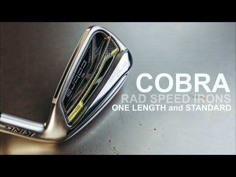 GOLF IRON REVIEW COBRA RAD SPEED IRONS