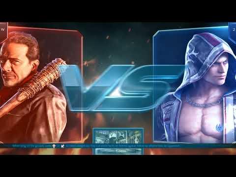 The Fighting Dead... I Mean The Walking Dead - Tekken 7 Negan Online Match (No Commentary)