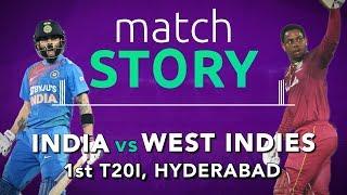 India vs West Indies, 1st T20I, Match Story: Vintage Virat Kohli