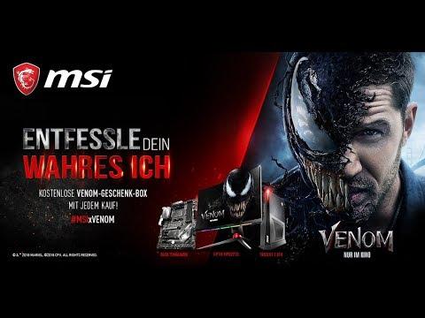 MSI x Venom | Entfessle dein wahres Ich
