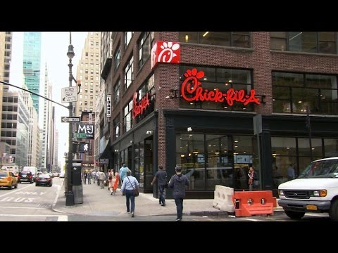 Chick-fil-A opens first Manhattan outpost