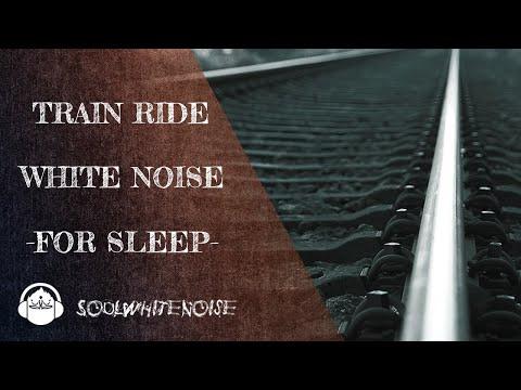 Train Ride White Noise For A Deep And Restful Sleep | Sleep Like A Pro