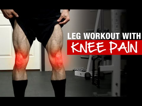 Killer Leg Workout (EVEN WITH SORE KNEES!) - YouTube