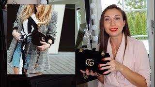 Моя первая  Gucci bag Marmont Обзор Review