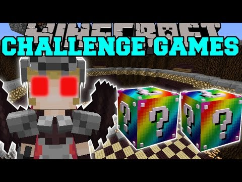 Minecraft: VALKYRIE CHALLENGE GAMES - Lucky Block Mod - Modded Mini-Game