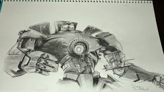 Pacific Rim drawing