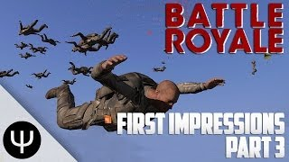 ARMA 3: Battle Royale Mod — First Impressions — Part 3 — Lone Survivor!