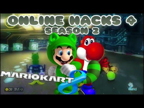 Mario Kart 8 Hacks - Online 4 (Season 2)