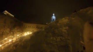 Лавина. Тобольск, Кремль 2015(и в тобольске бывают лавины), 2015-12-08T17:17:38.000Z)