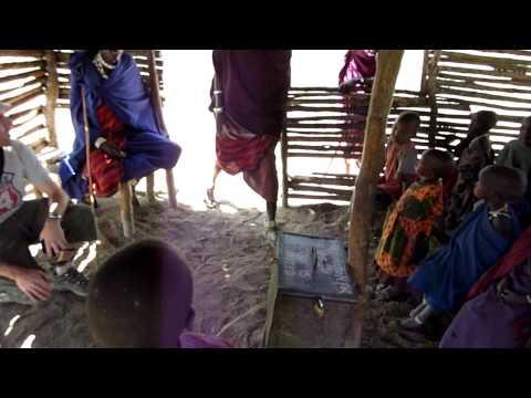 Masai school classroom