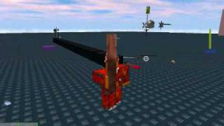 AgentBloxxer376 showing Gears,planes and decals on ROBLOX!