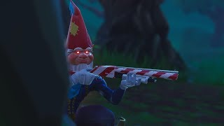 "GNOME SET! NEW SKIN ""HAPPY BEARD"" AND PICKAXE ""ICY TWIG""! (Fortnite Battle Royale)"