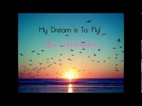 My Dream Is To Fly - LYRICS - مترجمة