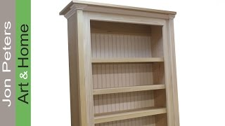How To Build A Bookcase / Bookshelf, Interior Design Idea's