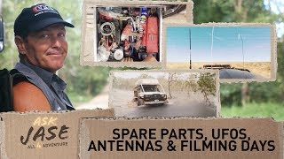 Ask Jase: Spare Parts, UFOs, Antennas & Number of Days Filming► All 4 Adventure TV