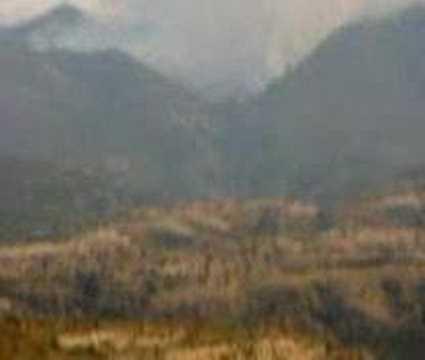 Fire in Central Evia, Mistros, Theologos