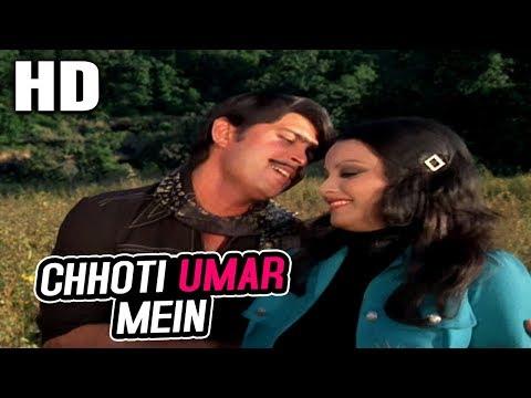 Chhoti Umar Mein   Kishore Kumar   Aakraman 1975 Songs   Rakesh Roshan, Rekha