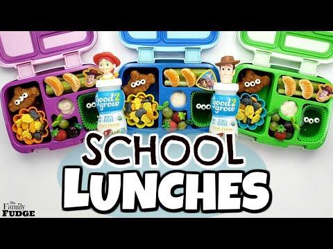 KIDS Try *NEW* FOODS 😁 Fun & Easy School Lunch Ideas