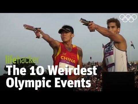 The 10 Weirdest Olympic Events