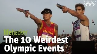 The 10 Weirdest Olympic Events Video