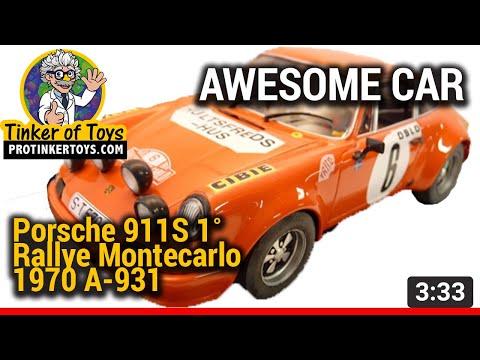UNBOXING | Porsche 911S 1˚ Rallye Montecarlo 1970 A-931 #88143 | Fly Car
