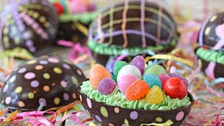 How To Make Brownie Filled Chocolate Easter Eggs - Food Arts .