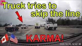 INSTANT KARMA USA & Canada | Drivers Busted by Police, Pulled Over, Karma Cop, Justice, Road Rage