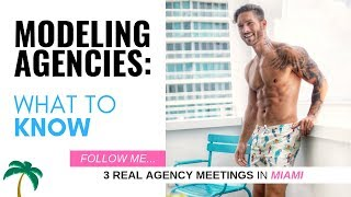 WHAT YOU DON'T KNOW ABOUT TOP MODELING AGENCIES – Follow Model To REAL Wilhelmina Meeting!