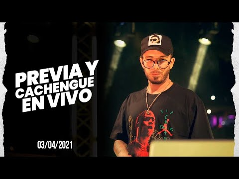 PREVIA Y CACHENGUE EN VIVO 🔴 3/4/2021 | Enganchado REGGAETON REMIX / SET EN VIVO - Fer Palacio - No Ferpa No Party
