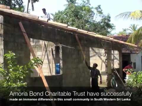 Amoria Bond Charitable Trust : Roofing Project in Sri Lanka