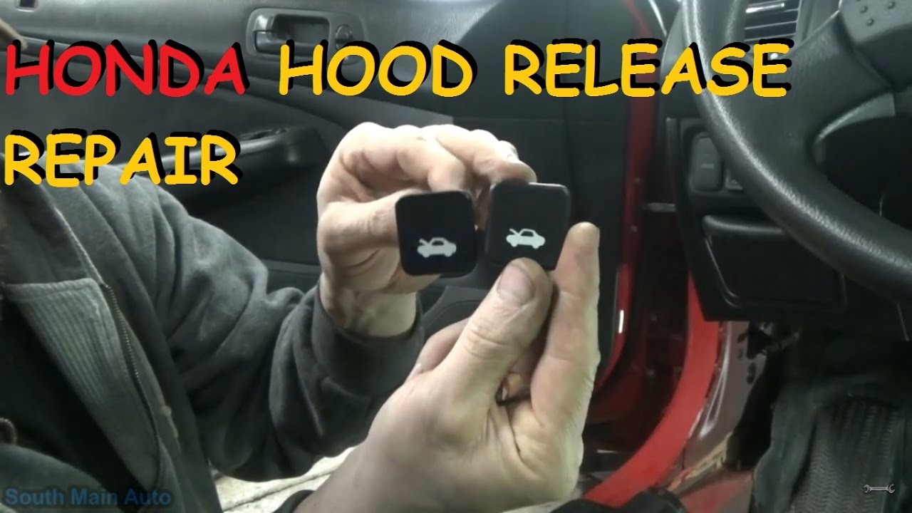 Quailty Car Assembly Handle Hood Latch Release Repair Fix for Honda Civic CR-V