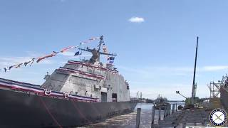 Littoral Combat Ship Billings Launches