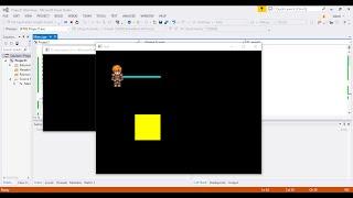 Создание игры на C++/ SFML. Движение персонажа. Урок 4