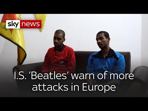 Full interview: 'Beatles' jihadists speak to Sky