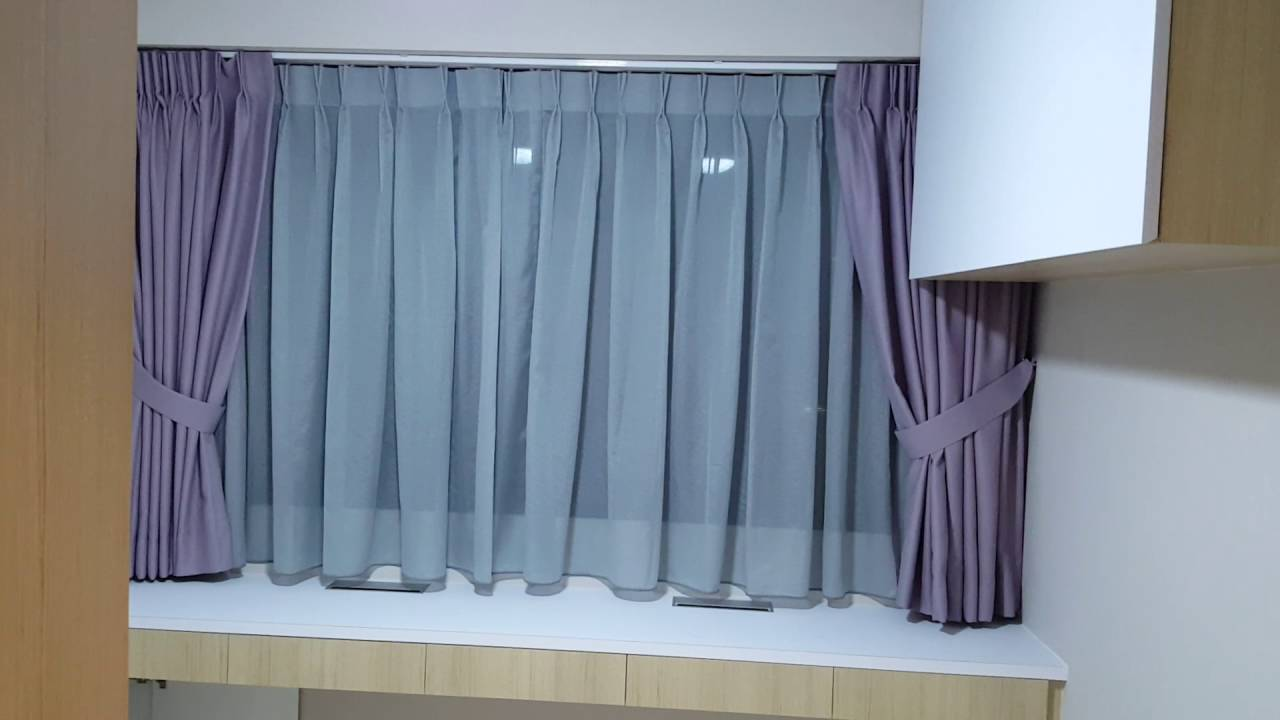 Day & Night Curtains Installed at Punggol Edgedale Plains - YouTube