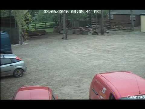 Postman Fail! Hits two vehicles... Oops. Idiot Driver UK 2016