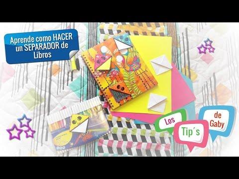Cómo Hacer Separadores Creativos Para Cuadernos Y Libros
