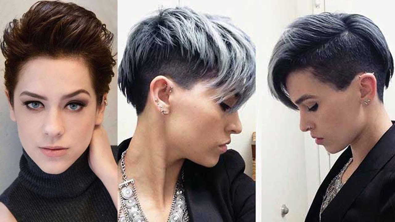 Great Short Haircuts For Women 2017 Short Hair Cut Styles Youtube