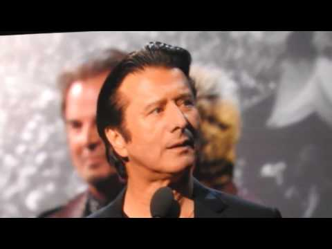 Steve Perry at the Rock & Roll Hall of Fame Induction Ceremony 2017