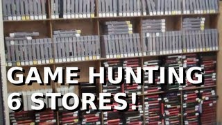 Game Hunting At 6 Different Stores!