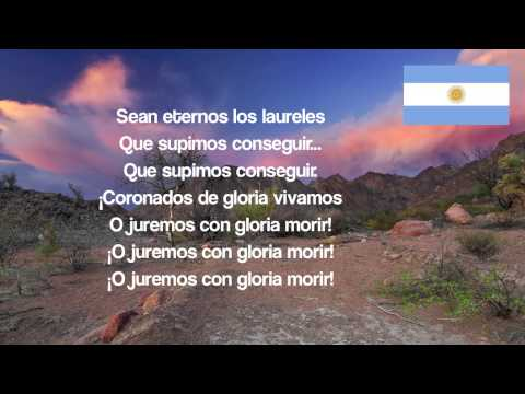 Argentina National Anthem Lyrics