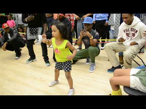 Little Girl Dancing her heart out l Tommy The Clown l OfficialTSquadTV