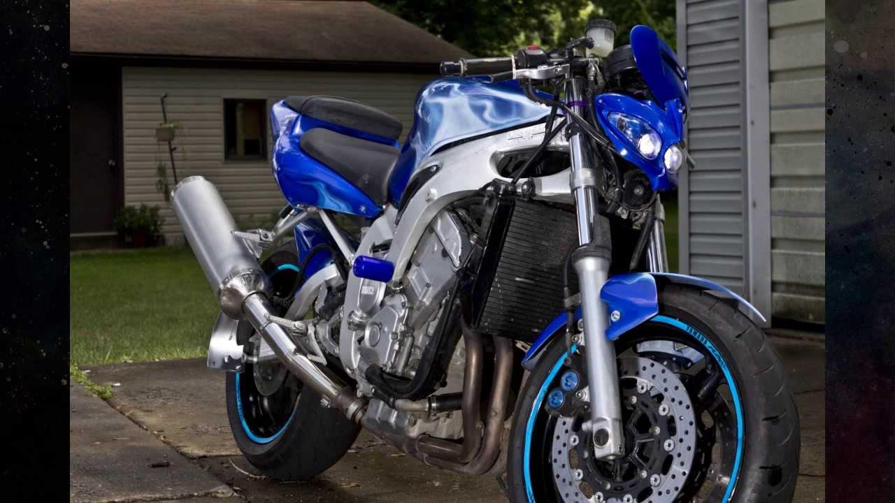 Custom Yamaha R6 streetfighter - YouTube  Custom Yamaha R...